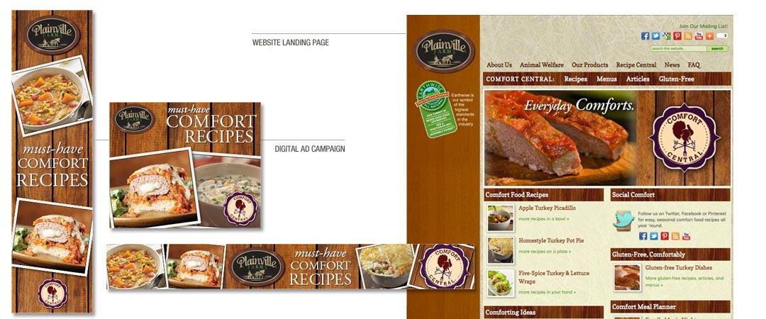 Digital Ad Campaign & Website Landing Page